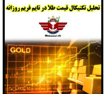 تحلیل قیمت طلا جهانی